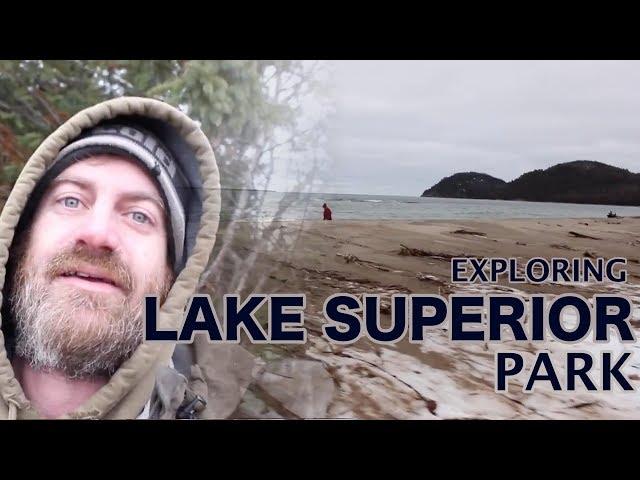 Exploring Lake Superior Provincial Park - Old Woman Bay, Sand River Falls & Chippewa Falls