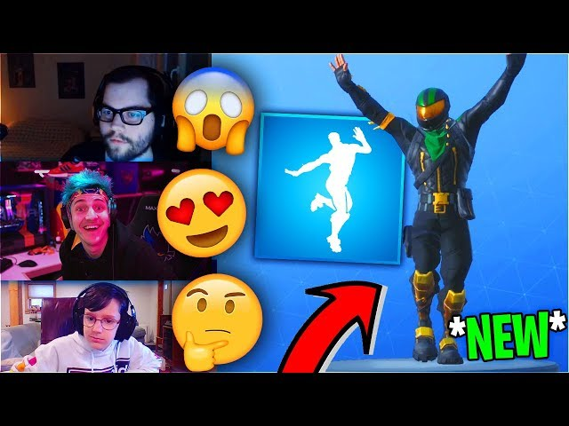 """Streamers React To *NEW* """"SLAP HAPPY"""" DANCE/EMOTE! *RARE* - Fortnite Funny Moments"""